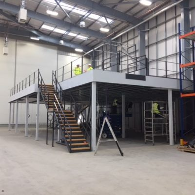 39 Mezzanine Floor Fire Rated Column Casings Fascia Belzona Harrogate Optimum