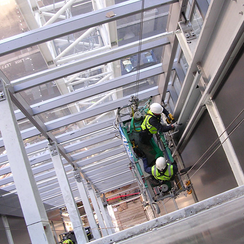 passive fire protection lift shaft